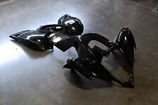 YAMAHA RAPTOR 700 BLACK PLASTIC FRONT AND REAR FENDER SET PLASTICS