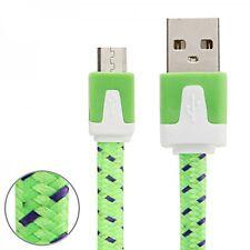Micro USB Datenkabel Ladekabel Farben 3m für Handys Tablet Kabel Laden Zubehör