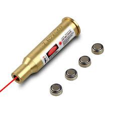 NEW Red Sight 7.62x54R Caliber Cartridge Laser Bore Sighter Boresight Copper