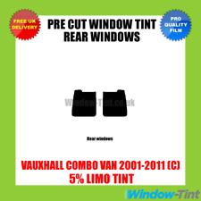 OPEL COMBO VAN 2001-2011 (C) 5% Limousine hinten Vorgeschnittene Scheibentönung
