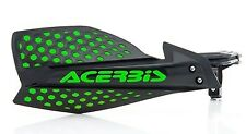 ACERBIS X- ULTIMATE HANDGUARDS BLACK / GREEN KAWASAKI KX125 KX250 KXF250 KXF450