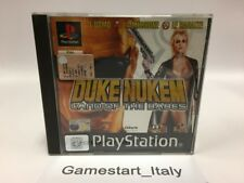 DUKE NUKEM LAND OF THE BABES - SONY PS1 - USATO PERFETTAMENTE FUNZIONANTE - PAL