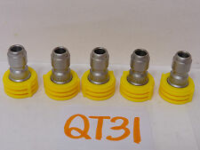 5 SPRAYING SYSTEMS CO. NOZZLE QUICK CONNECT power washer part  4-1503 & 1-1505