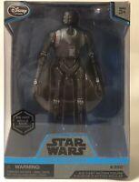 Disney Store Star Wars Rouge One K-2SO Elite Series Die Cast Action Figure Clear