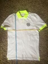 Express Mens Polo Top (White) Size M - Very Good Condition - RARE