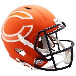Chicago Bears Full Size Riddell Amp Replica Speed Alternate Helmet