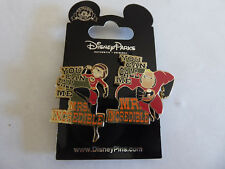Disney Trading Pin You can call me Mrs/Mr Incredible 2 pin set