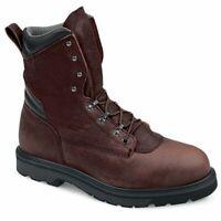 NEW Red Wing  2264 Hi Heavy Duty Work Boots Leather Black Steel toe SZ 15 D