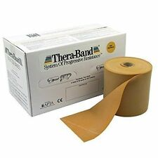 by the foot Resistance  Physical Therapy Exercise Gold Band Cando Theraband