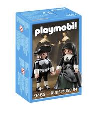 Playmobil 9483 Marten y Oopjen Soolmans Ruks Museum Rembrandt NEW in BOX NUEVO