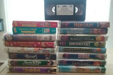 Walt Disney Wholesale Lot of 17 VHS Movies Tapes
