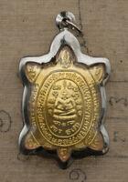 Tartaruga Tao Ruean LP Liew-Amulette Da Thaïlande-pendentif-talisman Thai 6566