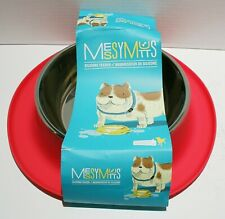 Messy Mutts Stainless Steel Bowl w/Silicone Non Slip Base - 6 Cups