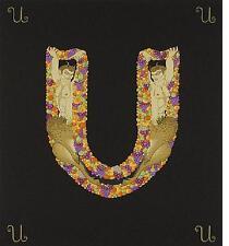 """Erte    (Romain De Tirtoff)     """"Letter U""""  Alphaet  Serigraph    MAKE OFFER  BA"""