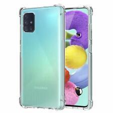 Samsung Galaxy A51 Case Transparent Ultra Slim Soft Silicone TPU Anti Fall Clear