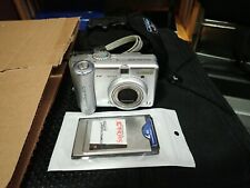 Canon PowerShot A75 3.2MP Digital Camera - Silver Parts Or Repair