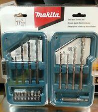 Drill and Driver set Original MAKITA 17 pc.