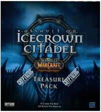 New Sealed Icecrown Citadel Treasure Pack Booster Box World of Warcraft WoW Tcg