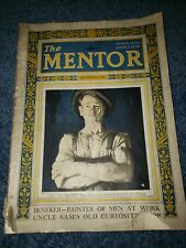 The Mentor magazine September 1925 -- Beneker -- Painter
