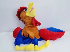 Chicken Rooster Mascot Halloween Costume Deluxe Adult Unisex Outfits One Size