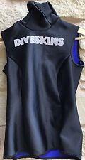 Dive Skin Hooded Hood Vest Oztex Sz Small S Rash Guard Surfer Protection Diving