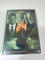 24 Seconda Stagione 2 Completa Kiefer Sutherland - 7 X DVD Spagnolo Inglese - 3T