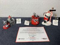 Dale Earnhardt #3 - Christmas Ornaments Hamilton 2003 - Set 6 of 7 HandPainted