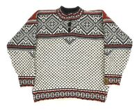 Mens Dale of Norway Gore Windstopper Sweater Knit Wool Fair Isle Size M