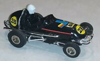 Strombecker Midget 1:32 Scale Vintage Slot Car Set with ONE Running Car.  NICE!