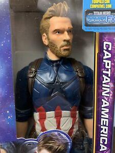 Marvel Avengers Steve Rogers Captain America Titan Hero Infinity War Endgame