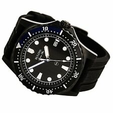 Bulova Men's 98B159 'Marine Star' Black Rubber Watch