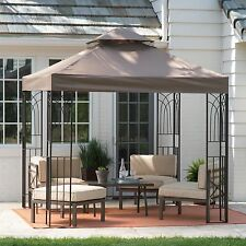 Gazebo Canopy Tent Cover Shelter Shade 8x8 Pergola Outdoor Yard Patio Furniture