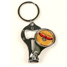 (2) NEW Atlanta Hawks 3 IN 1 KEYCHAIN, Bottle Opener, Nail Clippers