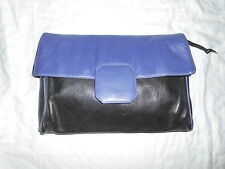 VINTAGE NAPPA COWHIDE LEATHER  LARGE CLUTCH BAG FROM BRAZIL