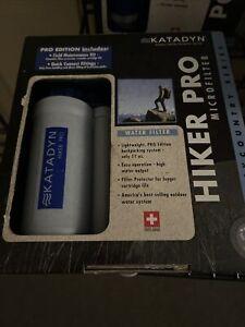 Katadyn Hiker Pro Edition Water Filter, Portable Micro Filter