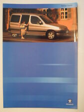 PEUGEOT PARTNER COMBI orig 2001 UK Mkt Sales Brochure