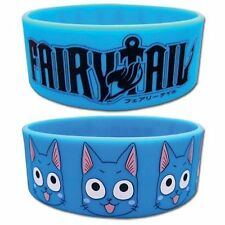 *NEW* Fairy Tail: Happy & Logo PVC Wristband by GE Animation