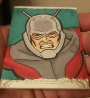 2018 Marvel Masterpieces Sketch Card ANT-MAN