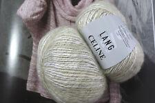 600 g Celine Mint Grün Weiss elegant Lang Yarns Lana UVP 95,40 € Mohair Fb 94