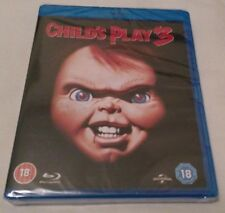 Child's Play 3 Blu Ray - UK Region B - NEW and SEALEd
