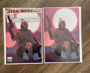 Star Wars War of the Bounty Hunters #1 Sara Pichelli Virgin Variant Set