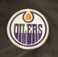 NHL Edmonton Oilers 2011/12-Now Team Logo in Full Color & Shape Sticker #12