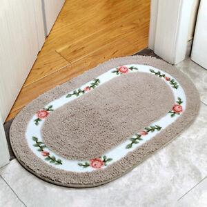 Pastoral Carpet Floor Mat Bathroom NonSlip Mat Doormat Bedside Blanket Rug