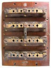 Antique Hartmann & Braun Frankfurt Germany Resistance Plug Box Lab Instrument
