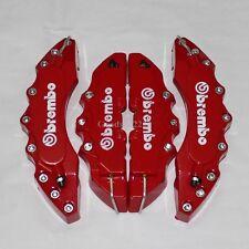 3D 4PCS Sport Model Disc Brake Caliper Cover Racing Brembo Style Front/Rear Kit