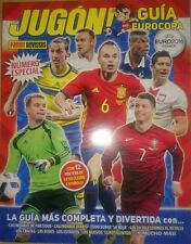 Guía Eurocopa UEFA EURO 2016 France Guide Adrenalyn Stickers Jugón Panini Rare