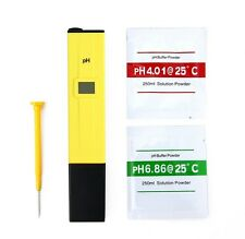 Digital Pocket PH Meter Water Tester Pen LCD Monitor Pool Aquarium Laboratory