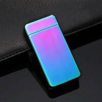 Electric DOUBLE ARCH PULSE PLASMA LIGHTER Flameless Metal Cigarette USB NIUAY