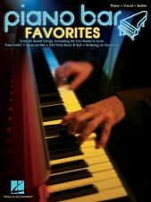 PIANO BAR FAVORITES w/VOCALS & GUITAR CHORDS SHEET MUSIC SONG BOOK