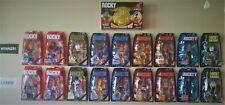 Rocky Series Jakks Pacific Lot of 18 Action Figures & Championship Belt Moc Nib